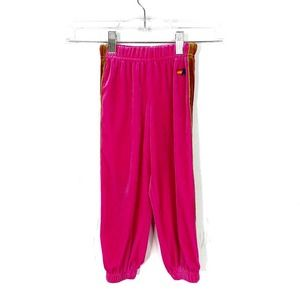 Aviator Nation Kids Classic Velvet Sweatpants Pink